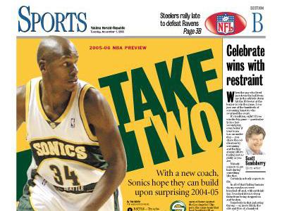 Sports — Nov. 1, 2005