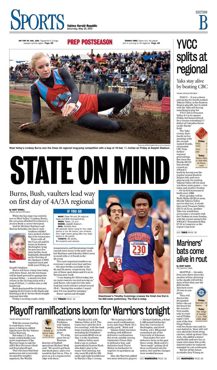 Sports — May 22, 2010