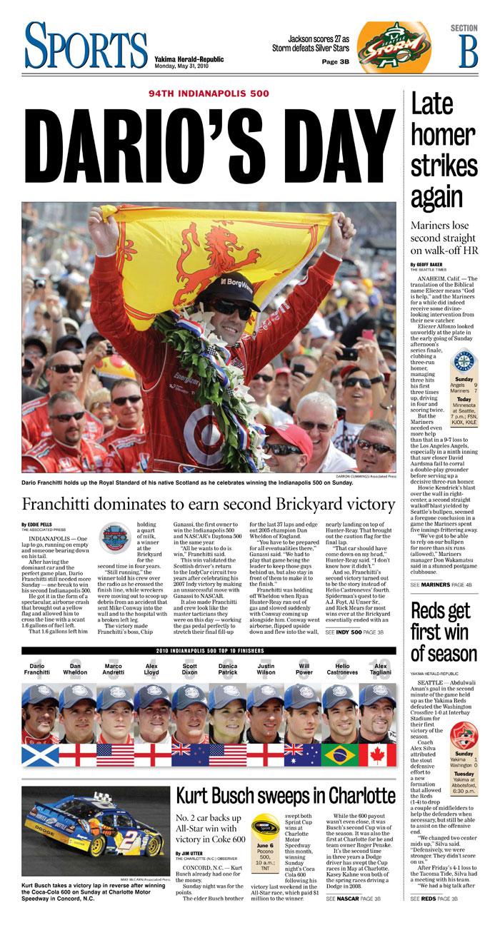 Sports — May 31, 2010
