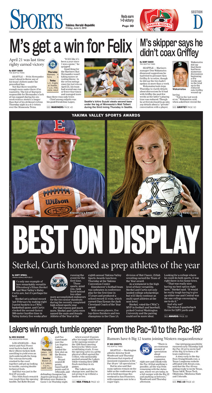 Sports — June 4, 2010