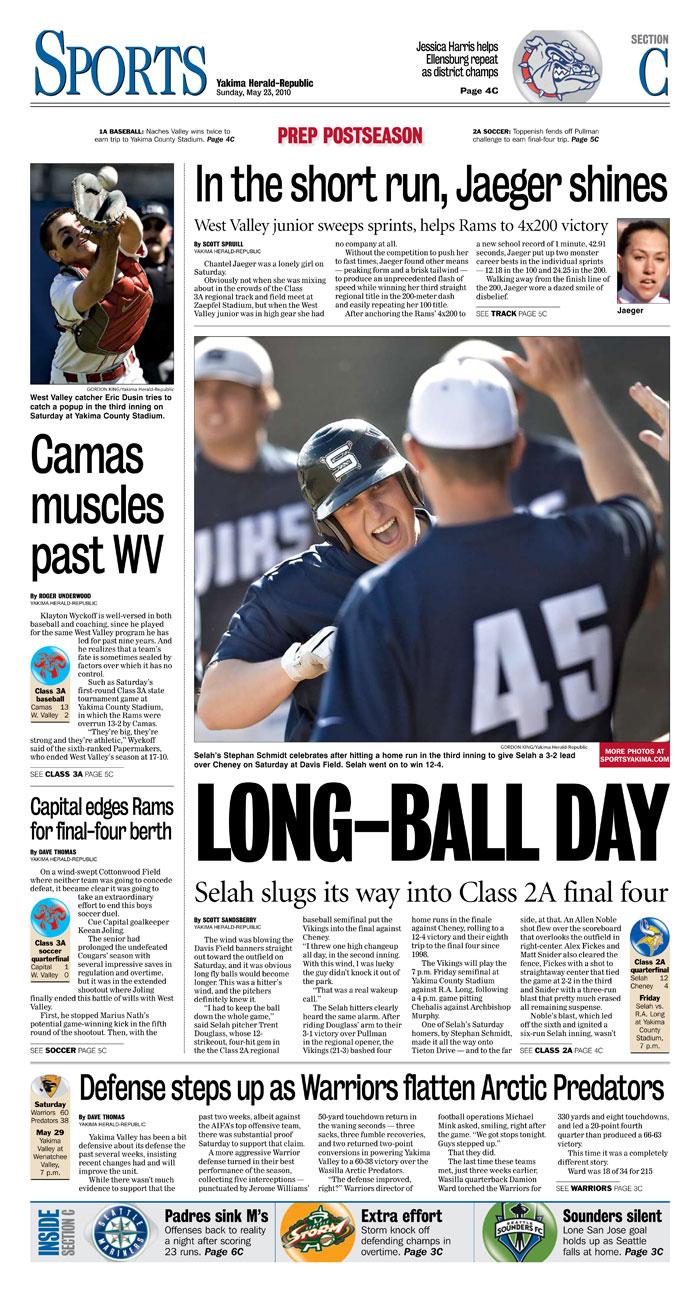 Sports — May 23, 2010