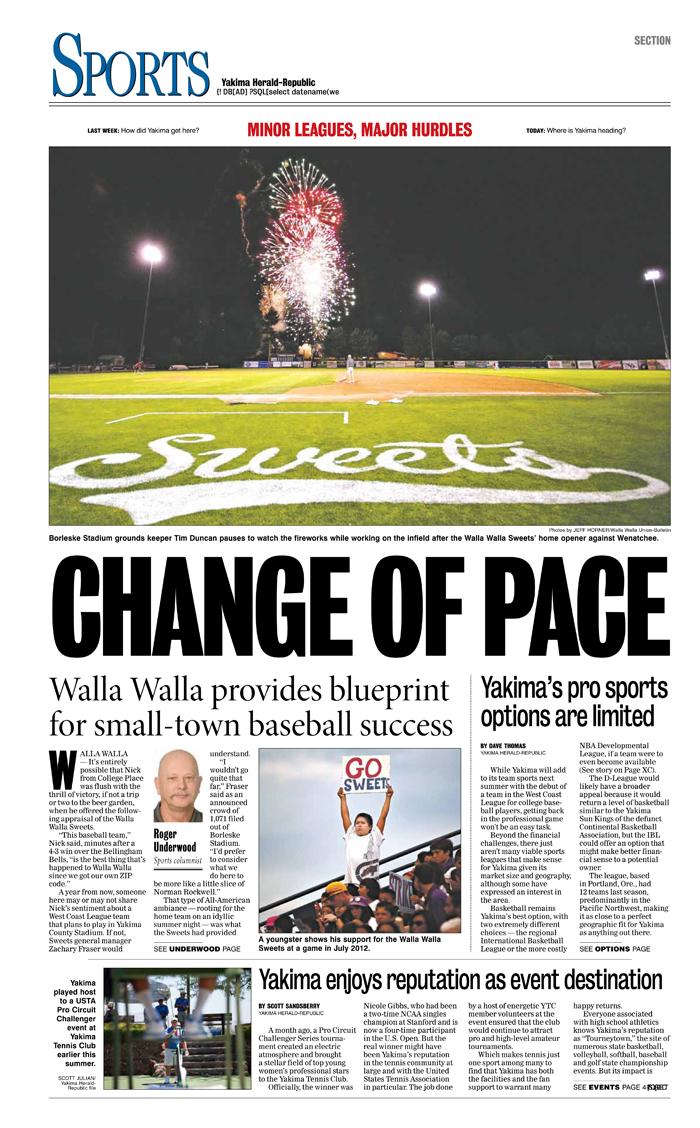 Sports — Aug. 24, 2013