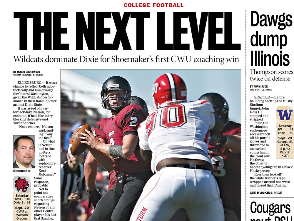 Sports — Sept. 14, 2014